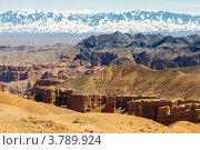 Чарынский каньон, Алма-Атинская область, Казахстан (2012 год). Стоковое фото, фотограф Антон Журавков / Фотобанк Лори