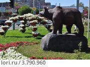 Городская скульптура (г. Оренбург) (2012 год). Редакционное фото, фотограф Алексей Сахаров / Фотобанк Лори
