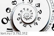 Спираль времени, иллюстрация № 3792312 (c) Liseykina / Фотобанк Лори