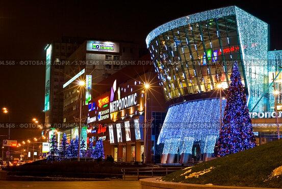 5e8bb046cc09 Купить «Ночная Москва. Торговый центр