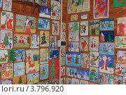 Купить «Детские письма в резиденции белорусского Деда Мороза в Беловежской пуще», эксклюзивное фото № 3796920, снято 4 июля 2012 г. (c) Rekacy / Фотобанк Лори