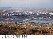 Купить «Осенний Красноярск», фото № 3798144, снято 8 октября 2011 г. (c) Михаил Зверев / Фотобанк Лори