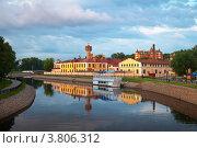 Купить «Иваново в летний вечер. Россия», фото № 3806312, снято 27 июня 2012 г. (c) Яков Филимонов / Фотобанк Лори