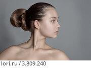 Девушка в профиль. Стоковое фото, фотограф Масюк Светлана / Фотобанк Лори