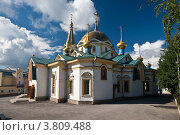 Купить «Новосибирск. Вознесенский кафедральный собор», фото № 3809488, снято 30 августа 2012 г. (c) Matwey / Фотобанк Лори