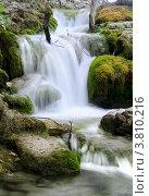 Водопад на Плитвицких озёрах в Хорватии. Стоковое фото, фотограф Александр Тесевич / Фотобанк Лори