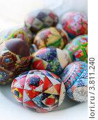 Купить «Пасхальные яйца», фото № 3811240, снято 24 апреля 2010 г. (c) Екатерина Шелыганова / Фотобанк Лори