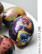 Купить «Пасхальные яйца», фото № 3811248, снято 24 апреля 2010 г. (c) Екатерина Шелыганова / Фотобанк Лори