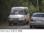 Купить «Балашиха, маршрутное такси», эксклюзивное фото № 3817488, снято 12 августа 2011 г. (c) Дмитрий Неумоин / Фотобанк Лори