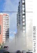 Пожар квартиры (2012 год). Редакционное фото, фотограф Алексей Меньшиков / Фотобанк Лори