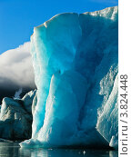 Ледник Шумный в губе Южная Сульменева на Северном острове Новой Земли. Стоковое фото, фотограф Сергей Гусев / Фотобанк Лори