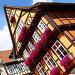 Старый дом с цветами в Кведлинбурге, Германия, фото № 3825740, снято 12 августа 2012 г. (c) Роман Сигаев / Фотобанк Лори