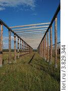 Геометрия животноводческой фермы. Стоковое фото, фотограф Олег Брагин / Фотобанк Лори