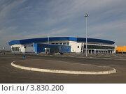 Ледовый дворец и аквапарк г. Сургут (2012 год). Стоковое фото, фотограф Сергей Бахадиров / Фотобанк Лори