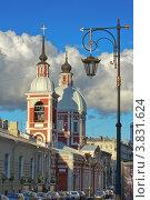 Купить «Пантелеймоновская церковь. Санкт-Петербург», эксклюзивное фото № 3831624, снято 9 сентября 2012 г. (c) Александр Алексеев / Фотобанк Лори