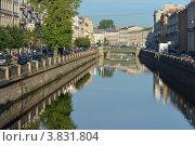 Купить «Канал Грибоедова в Санкт-Петербурге», эксклюзивное фото № 3831804, снято 10 сентября 2012 г. (c) Александр Алексеев / Фотобанк Лори