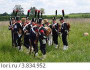 Купить «Бородинская битва, реконструкция», фото № 3834952, снято 27 мая 2012 г. (c) Овчинникова Ирина / Фотобанк Лори