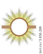 Логотип - колос. Стоковая иллюстрация, иллюстратор Ольга Нигаматулина / Фотобанк Лори