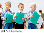 Купить «Ученики медресе читают Коран», фото № 3838960, снято 7 июля 2012 г. (c) Хайрятдинов Ринат / Фотобанк Лори