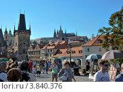 Вид на Пражский град (2012 год). Редакционное фото, фотограф Елена Конькова / Фотобанк Лори