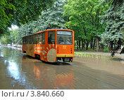 Наводнение в Пятигорске (2012 год). Редакционное фото, фотограф Илья Шкоденко / Фотобанк Лори