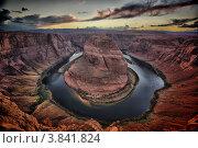 Купить «Река Колорадо. Хорсшу-Бенд, Аризона», фото № 3841824, снято 20 мая 2019 г. (c) Гараев Александр / Фотобанк Лори