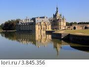 Купить «Иль-де-Франс. Замок Шантийи (Château de Chantilly).», эксклюзивное фото № 3845356, снято 9 сентября 2012 г. (c) Татьяна Лата / Фотобанк Лори