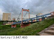 Город Тамбов. Тезиков мост (2012 год). Редакционное фото, фотограф Елена Ермохина / Фотобанк Лори