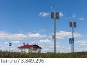 Купить «Отель у дороги», фото № 3849296, снято 29 июля 2012 г. (c) Алексей Волков / Фотобанк Лори