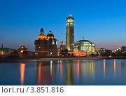 Купить «Московский международный Дом музыки», фото № 3851816, снято 5 августа 2012 г. (c) Павел Широков / Фотобанк Лори