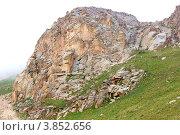 Горный пейзаж, Казахстан (2012 год). Стоковое фото, фотограф Антон Жигаев / Фотобанк Лори
