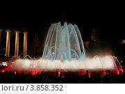 Поющие фонтаны в Барселоне (2012 год). Редакционное фото, фотограф Сиверина Лариса Игоревна / Фотобанк Лори