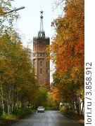 Водонапорная башня (2008 год). Стоковое фото, фотограф Юрий Дворников / Фотобанк Лори
