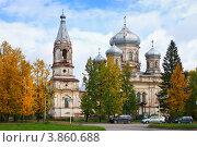 Церковь Сретенья Господня в Вытегре (2012 год). Стоковое фото, фотограф Александр Романов / Фотобанк Лори