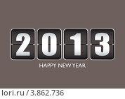 Купить «Счастливого Нового 2013 года», иллюстрация № 3862736 (c) Michael Travers / Фотобанк Лори