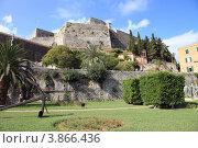 Купить «Вид новой крепости. Керкира. Корфу.», фото № 3866436, снято 5 сентября 2012 г. (c) УНА / Фотобанк Лори