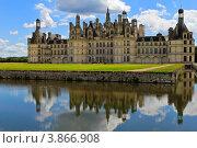 Замок Шамбор. Долина реки Луара во Франции (2012 год). Стоковое фото, фотограф Руслан Герасимчук / Фотобанк Лори