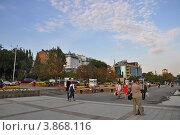 На ростовской набережной (2012 год). Редакционное фото, фотограф Ольга Першина / Фотобанк Лори