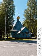 Купить «Церковь Казанской иконы Божией Матери в Тосно», фото № 3875160, снято 14 августа 2012 г. (c) Андрей Небукин / Фотобанк Лори