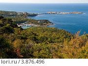 Купить «Осенний пейзаж, Большой Утриш, курорт Анапа», фото № 3876496, снято 25 сентября 2012 г. (c) Игорь Архипов / Фотобанк Лори