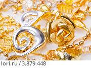 Купить «Большая коллекция золотых украшений», фото № 3879448, снято 12 июля 2012 г. (c) Elnur / Фотобанк Лори
