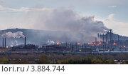 Купить «Магнитогорский металлургический комбинат», фото № 3884744, снято 25 сентября 2012 г. (c) Сергей Костарев / Фотобанк Лори