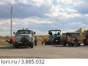 Дорожные работы (2012 год). Редакционное фото, фотограф Чихний Анастасия / Фотобанк Лори