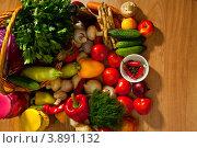 Свежие овощи для консервирования или заготовки. Стоковое фото, фотограф Владимир Мельников / Фотобанк Лори