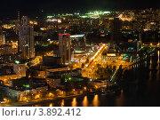 Ночной Екатеринбург (2012 год). Редакционное фото, фотограф Matwey / Фотобанк Лори
