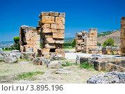 Развалины древнего города (2012 год). Стоковое фото, фотограф Евгений Егоров / Фотобанк Лори