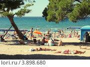 Пляж в Испании (2012 год). Редакционное фото, фотограф Назарова Инара / Фотобанк Лори