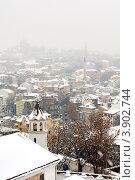 Старый город Пловдив Болгария зимой, фото № 3902744, снято 22 декабря 2011 г. (c) Эдуард Паравян / Фотобанк Лори