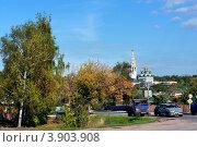 Купить «Приволжск, Ивановская область», фото № 3903908, снято 21 сентября 2012 г. (c) ElenArt / Фотобанк Лори