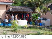 Купить «Филиппинский дайвцентр», фото № 3904880, снято 2 мая 2012 г. (c) Сергей Дубров / Фотобанк Лори